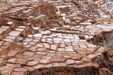 Peru, Salinas De Maras, Pre Inca Traditional Salt Mine (Salinas). Photographic Print by Rafal Cichawa