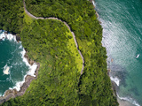 Top View of Exotic Hill in Brazil Photographic Print by Filipe Frazao