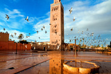Koutoubia Mosque, Marrakech, Morocco Photographic Print by  Migel