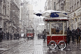 Traditional Fast Food of Istanbul on Beyoglu Photographic Print by mahmut enc