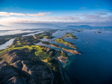 Beautiful Nature Norway Natural Landscape Aerial Photography. Photographic Print by Andrey Armyagov