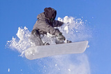 Snowboarder Photographic Print by  PicMy