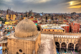 View of Cairo from Roof of Amir Al-Maridani Mosque - Egypt Photographic Print by Leonid Andronov