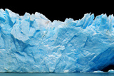 Icebergs Isolated on Black Photographic Print by  canadastock