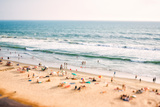 Beach on the Indian Ocean. India (Tilt Shift Lens). Photographic Print by Andrey Armyagov