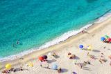 Beach Tropea Photographic Print by Carlos Amarillo