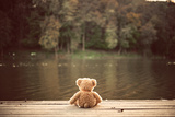 Teddy Bear Photographic Print by Creaturart Images