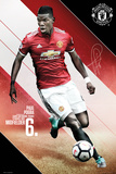 Man Utd Pogba 2017-2018 Prints