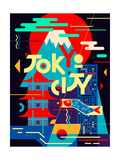Flat Poster. Tokyo City Photographic Print by  Daria_I
