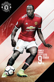 Man Utd Lukaku 2017-2018 Prints