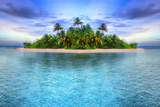 Tropical Island of Maldives Photographic Print by Patryk Kosmider