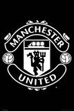 Man Utd Crest 2017-2018 Foto