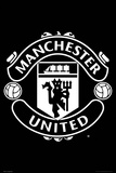 Man Utd Crest 2017-2018 Poster