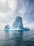 Antarctica and Iceberg Landscape Detail of Various Forms and Sizes in the Polar Regions of Earth Photographic Print by Dan Kosmayer