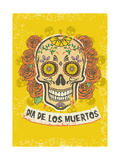 Day of the Dead Poster Photographic Print by  bazzier