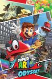 Super Mario Odyssey- Collage Prints