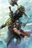 Thor: Ragnarok - Thor, Hulk Print