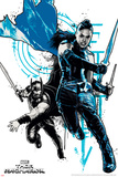 Thor: Ragnarok - Thor, Valkyrie Poster