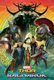 Thor: Ragnarok - Thor, Hulk, Valkyrie, Loki, Hela, Heimdall, Grandmaster Poster