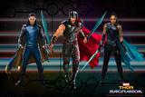 Thor: Ragnarok - Thor, Hulk, Valkyrie Billeder