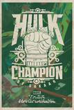 Thor: Ragnarok - Hulk Poster