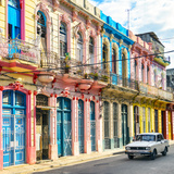 Cuba Fuerte Collection SQ - Colorful Facades in Havana Photographic Print by Philippe Hugonnard