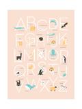 Alfabeto Stampe di Rebecca Lane