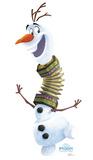 Olafs Frozen Adventure - Frozen Cardboard Cutouts