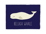 Beluga Stampe di Rebecca Lane