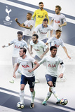 Tottenham - Players 17/18 Posters