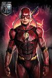 Justice League - Flash Stampe