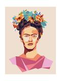 Frida Láminas por Rebecca Lane