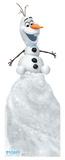 Olafs Frozen Adventure - Olaf on Snow Mound Cardboard Cutouts