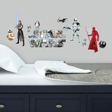 Star Wars: The Last Jedi Peel and Stick Wall Decals Adesivo de parede