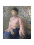Portrait of Miss Jeanne Chaîne, 1903 Impressão giclée por Odilon Redon