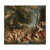 Worship of Venus, C.1635 Impressão giclée por Peter Paul Rubens