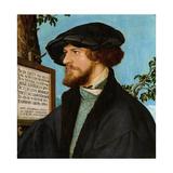 Portrait of Bonifacius Amerbach, 1519 Impressão giclée por Hans Holbein the Younger