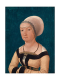 Portrait of the Wife of Jörg Fischer at Age 34, 1512 Impressão giclée por Hans Holbein the Elder