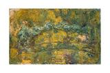 The Footbridge over the Water-Lily Pond, 1919 Impressão giclée por Claude Monet
