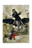 The Plague, 1898 Impressão giclée por Arnold Bocklin