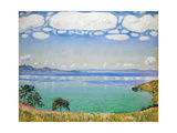 Lake Geneva, Seen from Chexbres, 1905 Impressão giclée por Ferdinand Hodler