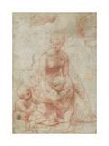 Madonna and Child with the Infant Saint John the Baptist, C.1506-7 Reproduction procédé giclée par  Raphael
