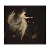 The Fairy Queen Appears to Prince Arthur, 1785-88 Impressão giclée por Henry Fuseli