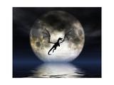 Dragon Moon Posters por Julie Fain