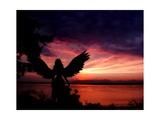 Angelic Posters por Julie Fain