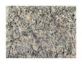 № 1, 1950(ラベンダー・ミスト), 1950 高品質プリント : ジャクソン・ポロック