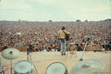 Woodstock- From Behind the Drums and Into the Crowd Poster by  Epic Rights