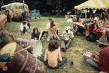 Woodstock- Drum Circles Poster von  Epic Rights