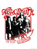 Aerosmith - 1977 Tour Poster