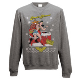 Crewneck Sweatshirt: DC Originals - Wonder Woman Xmas T-shirts
